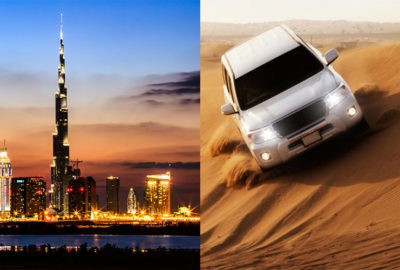 Dubai City Tour Plus Desert Safari