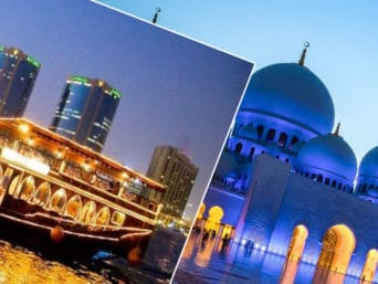 Abu Dhabi City Tour + Dhow Cruise Dinner