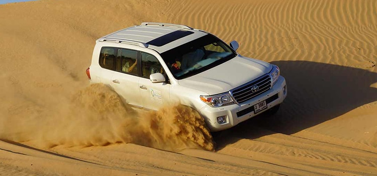 The Pleasure of Dubai Desert Safari With Us