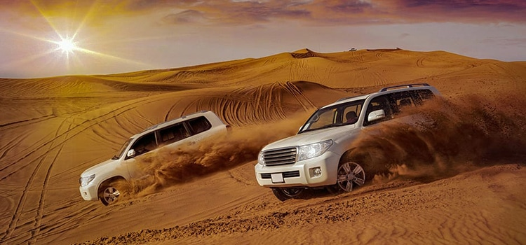 How to enjoy desert safari in Dubai