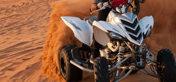 Why Quad Biking can be considered as the most fun activity in Dubai Desert Safari?