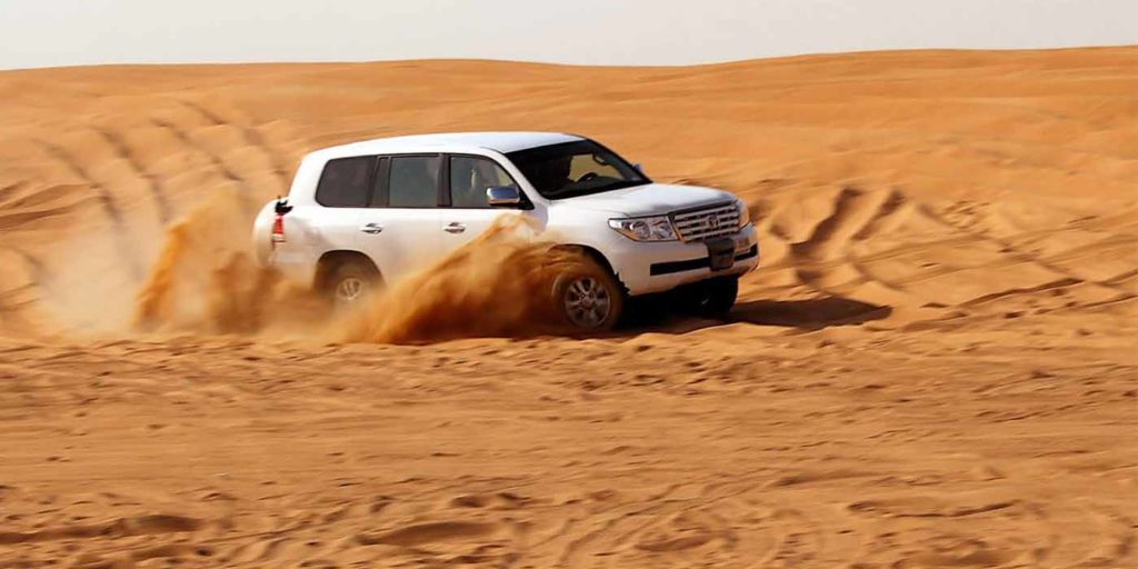 trip in Dubai desert