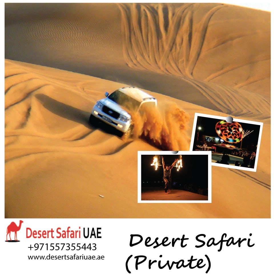 Morning trip at desert safari Dubai