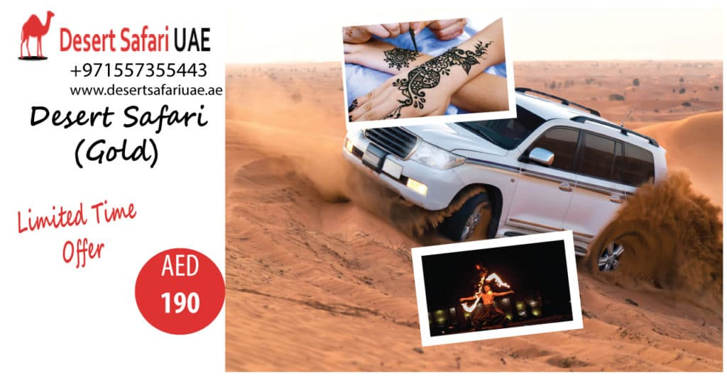 Desert Safari The Best Way To Spend Your Holidays