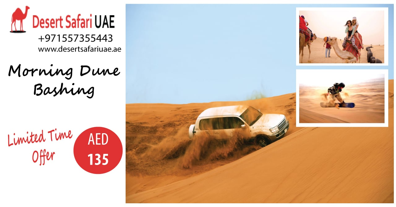 Don't Miss Out On the Beauty of Desert Safari