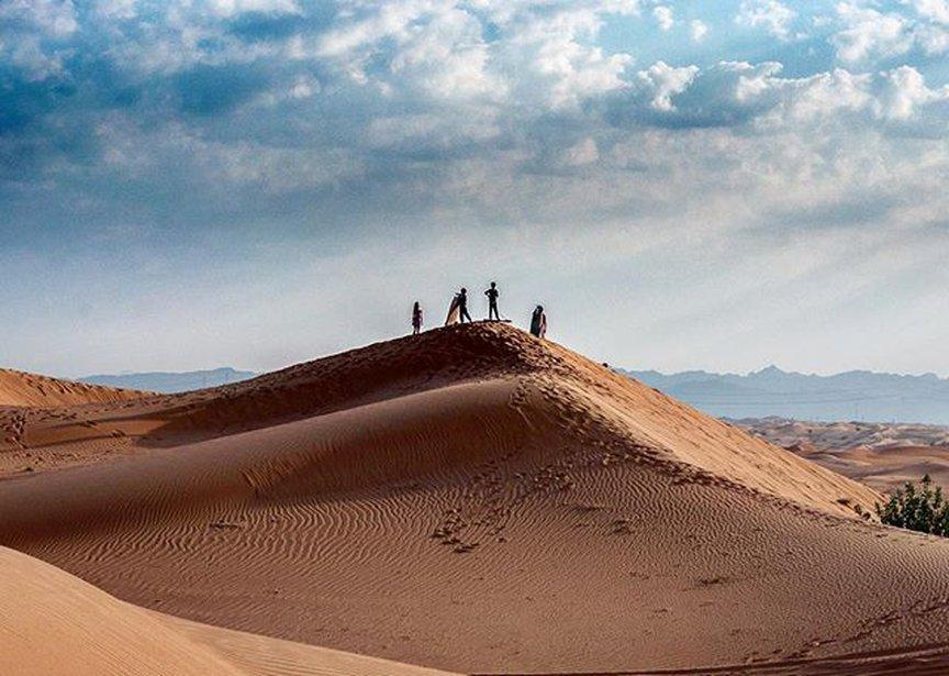 The famous Desert Safari Dubai