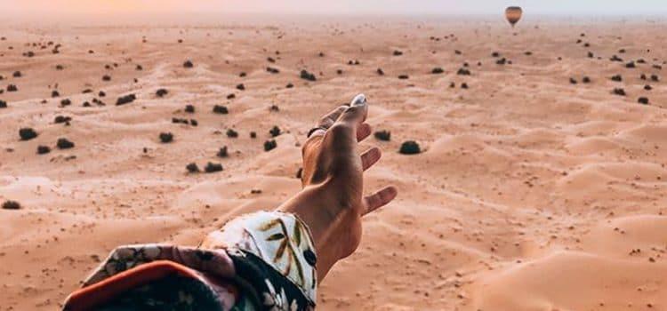 The Dune Bashing experience in Desert Safari