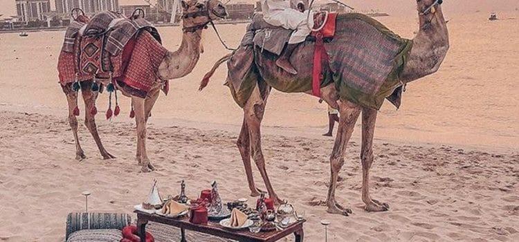 Dune Bashing in the Dubai Desert Safari
