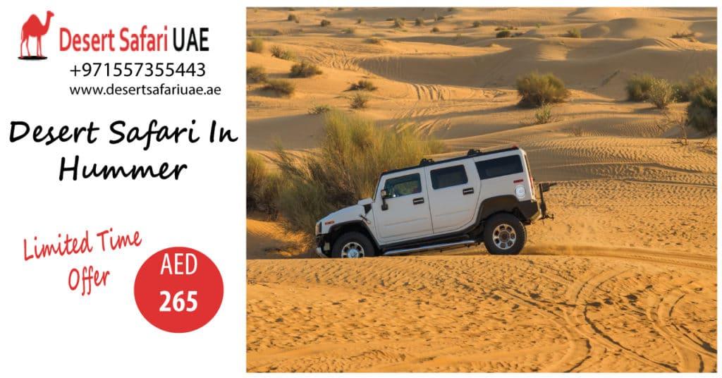 How Dubai Desert Safari Is Contributing To Promoting Tourism in Dubai