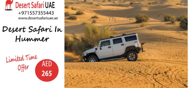 How Dubai Desert Safari Is Contributing To Promoting Tourism in Dubai