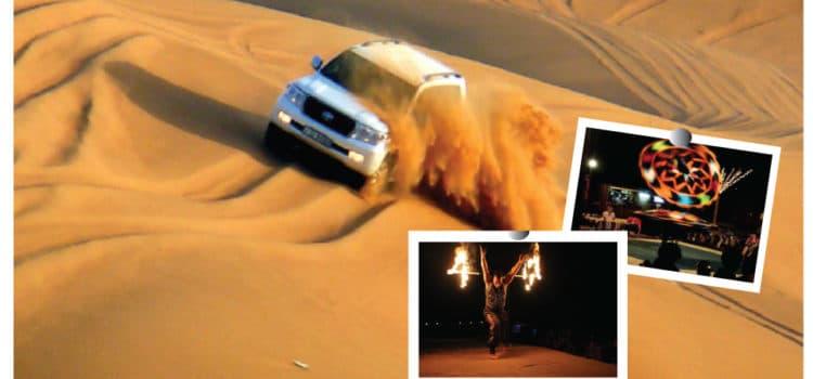 Interesting packages of Dubai desert safari.