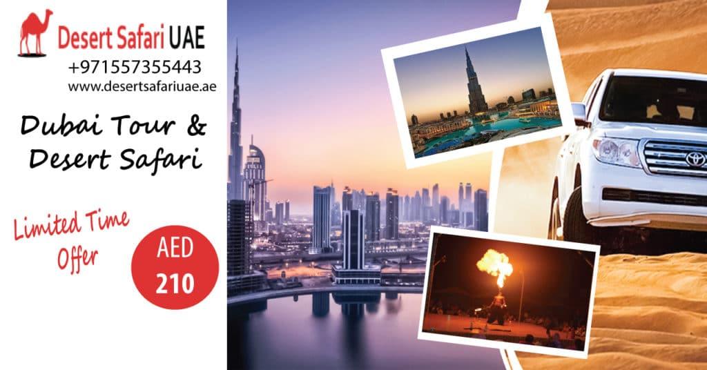 The Nightlife at Dubai desert safari.