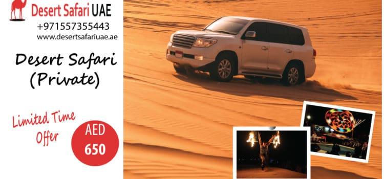Exploring Dubai desert safari