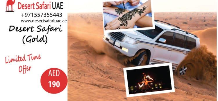 Dubai desert safari The perfect combo of adventures and entertainment