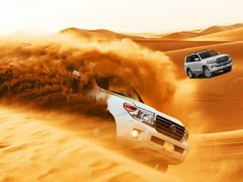 Red Dune Bashing Desert Safari
