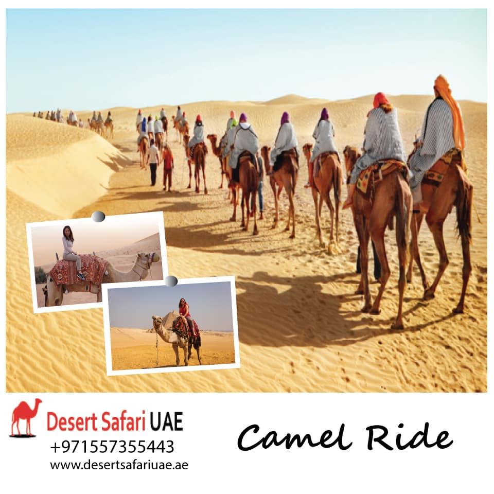 Adventuring in the morning at Dubai desert safari.