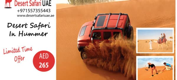 WHY IS DUBAI DESERT SAFARI A MUST VISIT PLACE IN DUBAI?