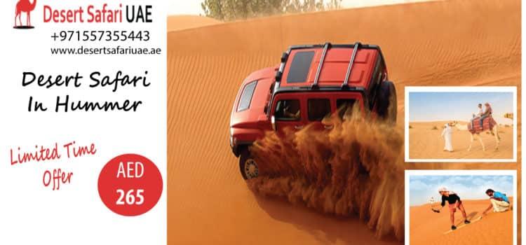 WHY IS DUBAI DESERT SAFARI A MUST VISIT PLACE IN DUBAI?