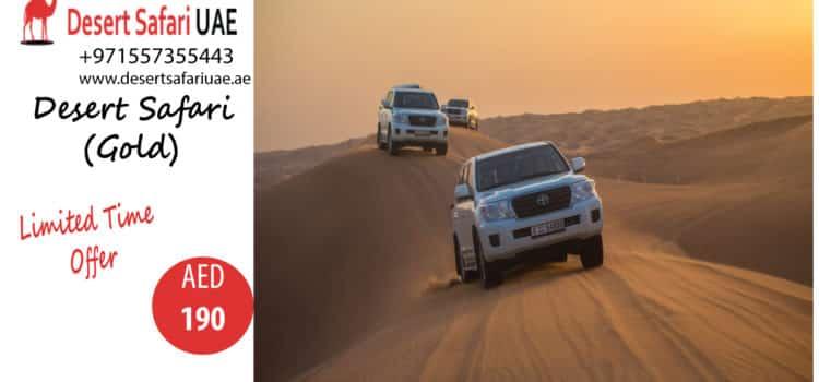 THRILLING ACTIVITIES AT DUBAI DESERT SAFARI