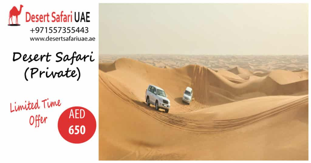ADVENTUROUS RIDES AND CAMPING AT DESERT SAFARI DUBAI