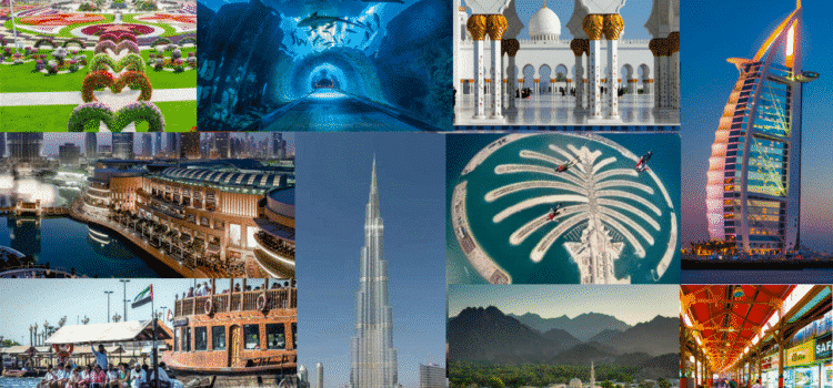 Top 10 Sightseeing in Dubai, UAE